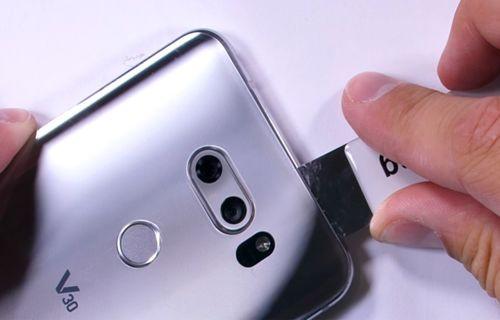 LG V30 dayanıklılık testi (Video)