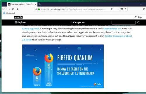 Firefox Quantum, hız konusunda Chrome'u solluyor!