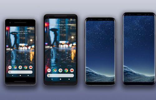Google Pixel 2 ve Galaxy S8 karşılaştırma!