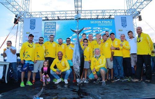 Turkcell Platinum Alaçatı Uluslararası Balıkçılık Turnuvası sona erdi!