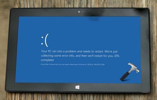 Microsoft, Windows 10 mavi ekran hatasını kabul etti!