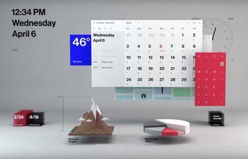 Karşınızda Windows 10'un yeni tasarımı!