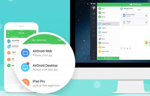 AirDroid ile iPhone'a kablosuz dosya atmak çok kolay!