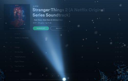 Spotify'dan Stranger Things sürprizi!