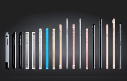 10 saniyede iPhone'un gelişimine tanıklık edin!