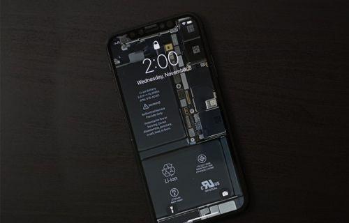 İşte içi görünen iPhone X! (Video)