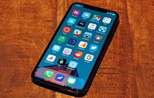 iPhone X ekranı soğuk havalarda donabilir