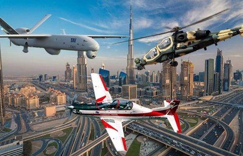 Yerli savaş uçakları Dubai'de şov yapacak!