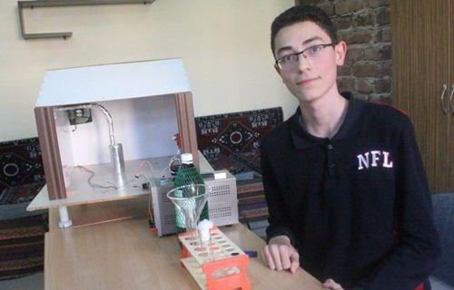 Türk öğrenciden zehirlenmeleri engelleyecek proje!