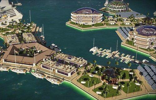 İlk yüzen kent geliyor!