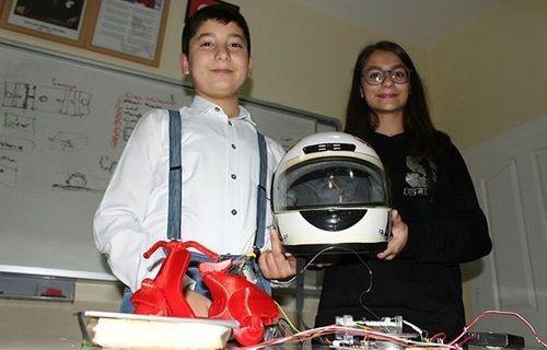 Türk genç mucitler projeleriyle dünya birincisi oldular!