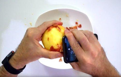 iPhone X'la elma soydular!