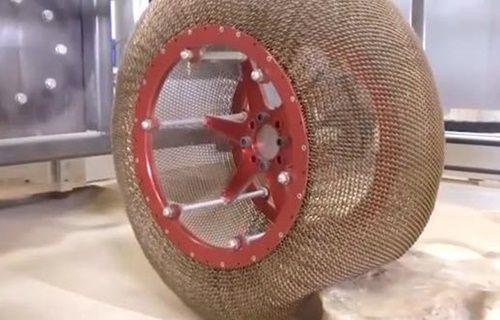 NASA tekerleği baştan geliştirdi!