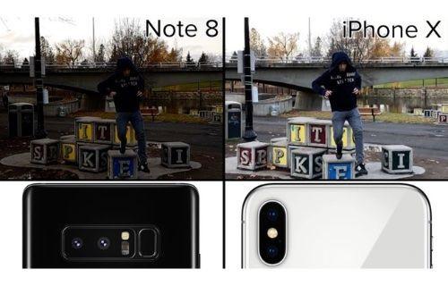 Galaxy Note8 mi yoksa iPhone X mu daha iyi video çekiyor?