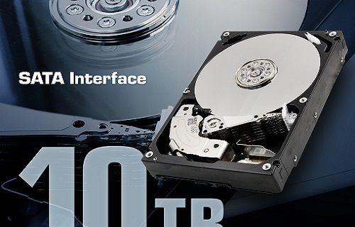 Toshiba'nın 10 TB'lık HDD'si satışa sunuluyor!