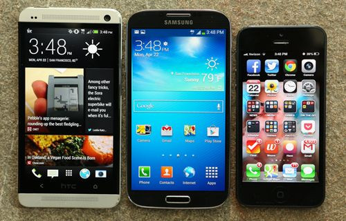 HTC One M8 vs iPhone 5S vs Galaxy S5 düşürme testi! Video
