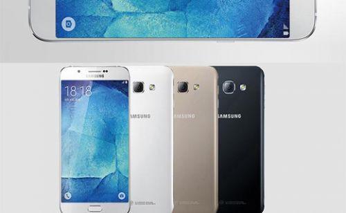 Galaxy S6 ve Galaxy Note 4 karışımı Galaxy A8 yine sızdı
