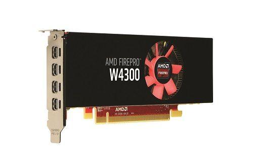 AMD FirePro W4300 ile en üst düzey esneklik sağlıyor