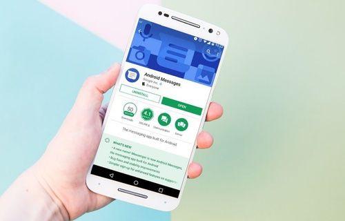 Android'in mesaj uygulaması güncellendi!