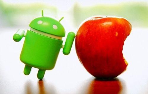 iOS, Android'i ikiye katladı!
