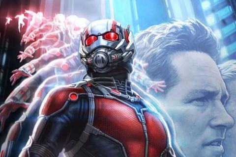 Ant-Man beyaz perde de hayat buluyor [Video]