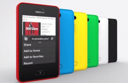 Nokia Asha'lara güncelleme geldi