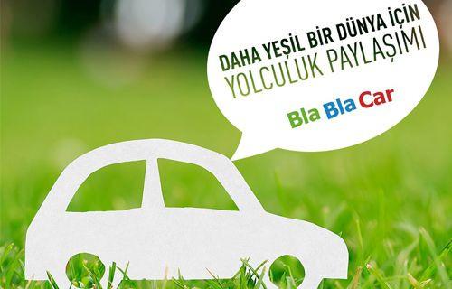 BlaBlaCar, Çevredostu Bir Oluşum Olma Yolunda İlerliyor