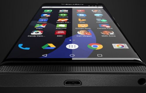 Blackberry'nin parmak izi tarayıcılı telefonunun basın görselleri sızdı