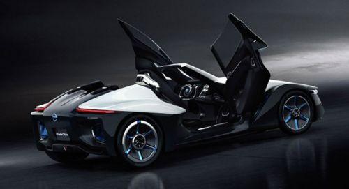 Muhteşem tasarımı ile Nissan BladeGlider- Video