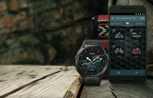 CES 2016: Casio WSD-F10 Akıllı Saat Duyuruldu