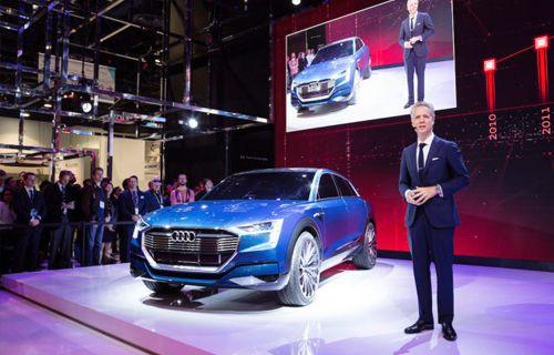 CES 2016: Elektrikli Audi e-tron Quattro SUV Modeli Otomatik Pilot Desteği Sunacak