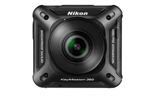 CES 2016: Nikon Keymission 360  Aksiyon Kamerası Tanıtıldı