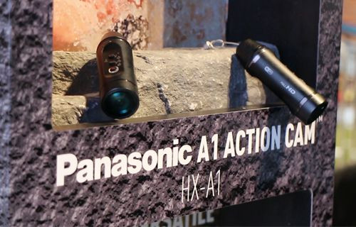 CES 2016: Panasonic HX-A1 Aksiyon Kamerası