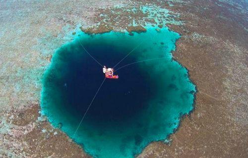 Çin'de dünyanın en büyük deliği keşfedildi