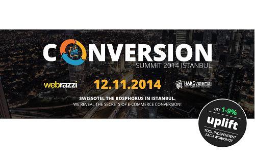 e-Ticaret Sektörünün Dönüşüm Sırları Conversion Summit 2014'te