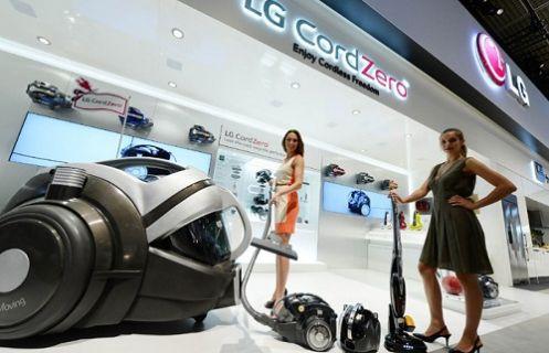 LG'nin yeni kablosuz süpürgesi CordZero İzmir'de