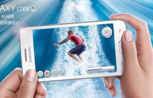 Samsung Galaxy Core Mini 4G resmen tanıtıldı