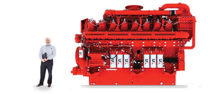 İşte 4000 beygirlik motor!