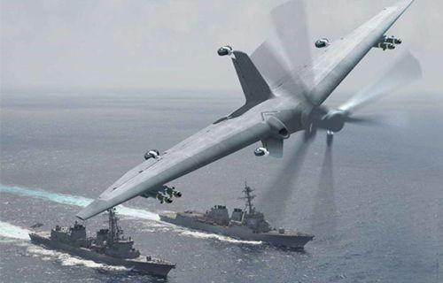 DARPA Küçük Gemilerden Kalkış Yapabilecek Drone'lar Üretecek
