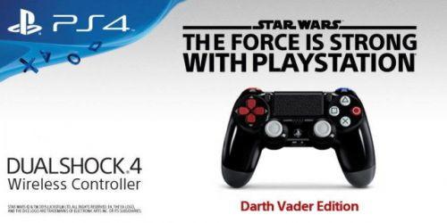 Darth Vader Edition PS4 Kontrolcüsü Satışa Çıkıyor