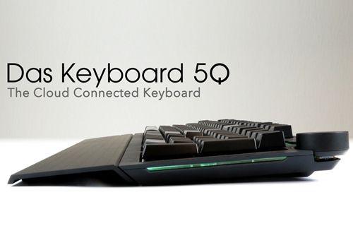 Alarm olarak kullanılabilen, bulut sistemli klavye: Das Keyboard 5Q