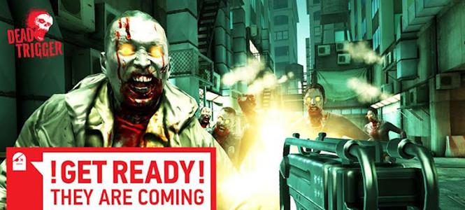 Muhteşem oyun Play Store'da sunuldu: Dead Trigger