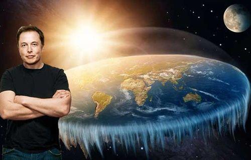 Elon Musk sordu; Dünya, düz olan tek gezegen mi?