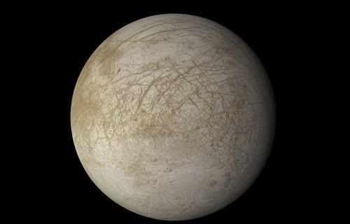 Jüpiter'in uydusu Europa'da okyanus mu var?