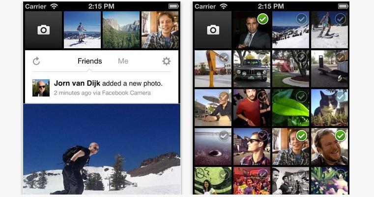 Facebook'un iOS'a özel Camera uygulaması çıktı, indirin!