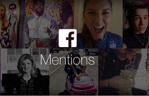 Facebook Mentions ile canlı yayına başlayın!