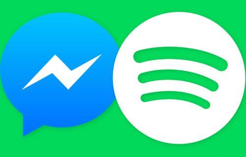 Facebook Messenger Spotify Desteği Aldı