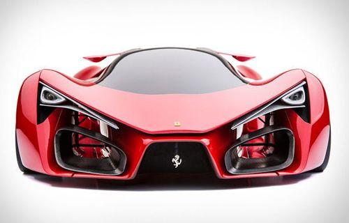 Ferrari F80 Konsepti Nefes Kesiyor