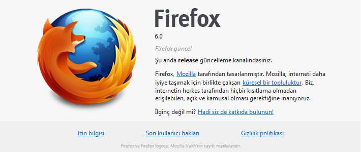Firefox 6 indirilmeye sunuldu