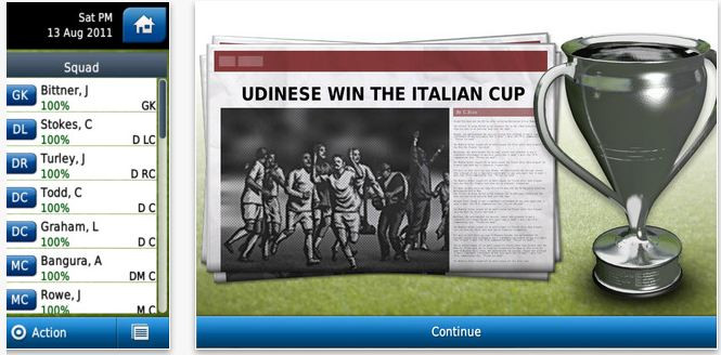 Football Manager 2012 Android'e geliyor!